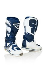 New 2020 Acerbis X-ROCK Boots Blue White Motocross Enduro